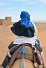 Barbara in Taureg Wrap, Sahara Desert, Morocco