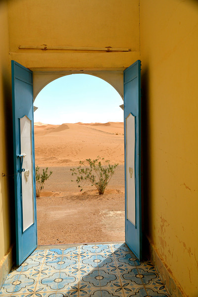 Looking Out, Sahara Desert, Morocco