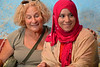 Isobel and Our Hostess;s Young Daughter, Rissani, Morocco