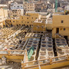 Reconstruction of the Fes tanneries