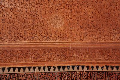 Exploring the medina of Marrakesh