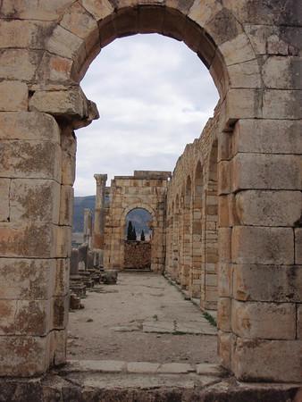 2010 Morocco ~  Part 3 High Plains Drifting, Roman Ruins &  Ancient Cities