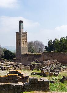 Chellah,a 14th-century Merinid necropolis
