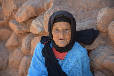 The hundred year old great grandmother.  But nobody really knew her age because no one kept track