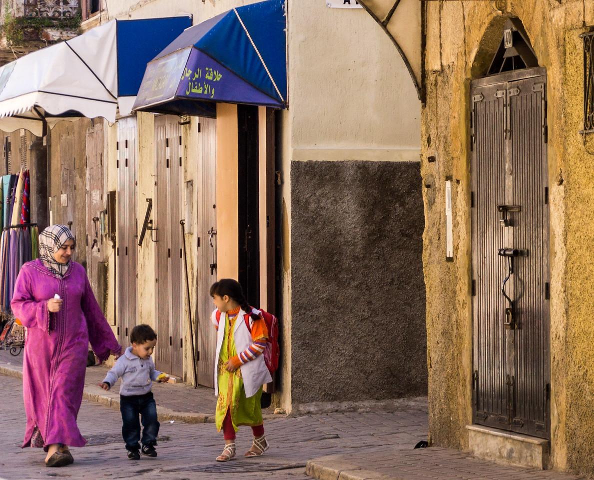 In the Safi medina