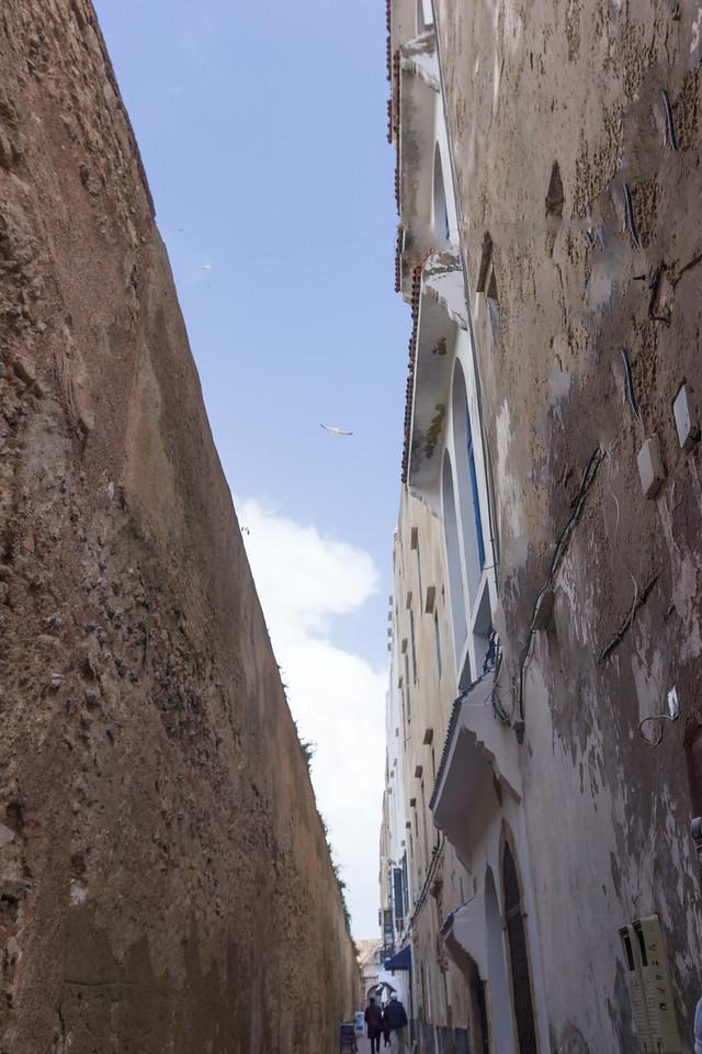 Very narrow street in the medina