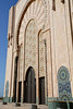 Entrance to the Grand Mosquée Hassan II, Casablanca, Morocco