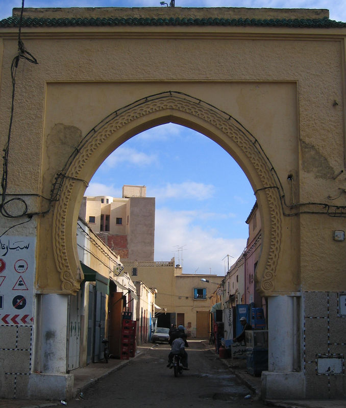 One of the medina side gates