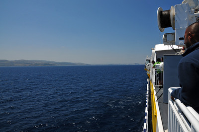 On the ferry from Tarifa to Tanger