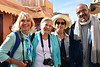 Loretta, Carole, Misty, and A Local, Tinghir, Morocco