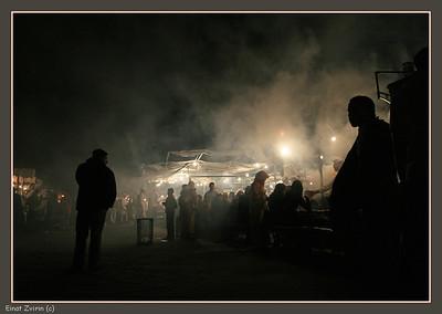 Jamma El Fna Food Market Marrakech