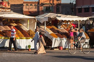 Market Stalls, Jemaa El Fna, Marrakech