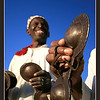 Street performers, Jamma El Fna Square, Marrakech
