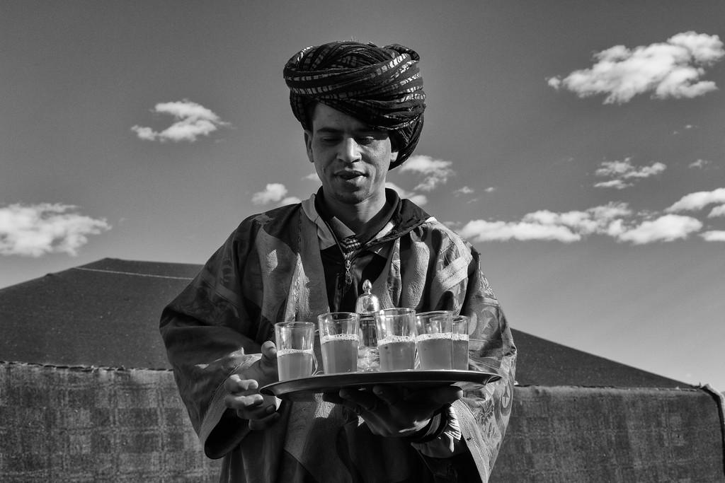 Tea, Merzouga, Morocco
