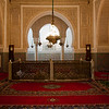 The mausoleum of Moulay Ismail, Meknes