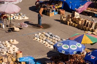 Medina in the Midday Heat, Marrakech