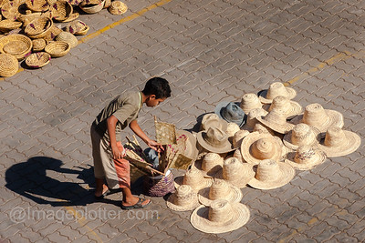 Boy Selling Hats, Medina, Marrakech