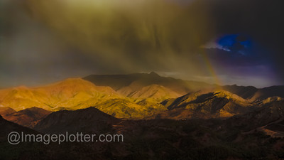 Stormy Weather, Road to Ouazarzate, High Atlas Mountains, Morocco
