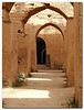 The stables of Moulay Ismail in the old city of Meknes, Morocco.