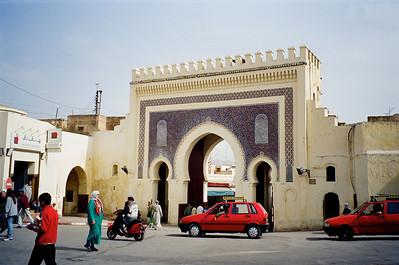 Bab Boujeloud Gate