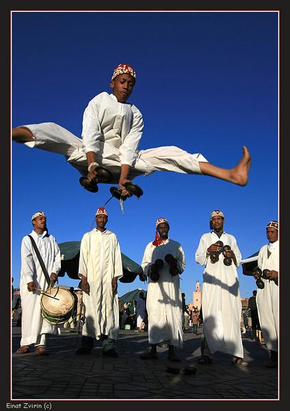 FAME!<br /> Street performers, Jamma El Fna Square, Marrakech