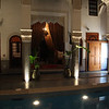 This Riad is in fact a joint of two separate Riads. Here you see the inter-connection to the 'other' Riad..