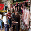 butcher at Moulay Idriss