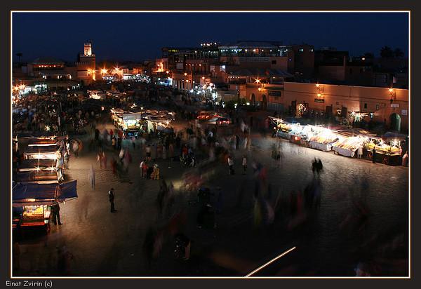 Things Happening<br /> Jamma El Fna Food Market, Marrakech