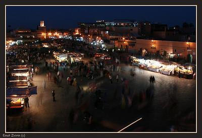 Things Happening Jamma El Fna Food Market, Marrakech