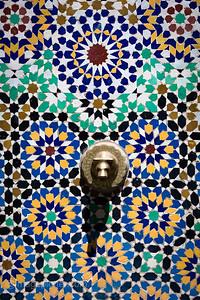 Tiled Water Fountain, Marrakech