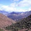 Tizi n Test road through the Atlas mountains