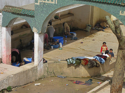 Sefrou community wash area