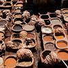 The tanneries, Fes el Bali, Fes