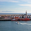 Not exactly Marrakesh but in fact the port of Terrifa, Spain looking towards Morocco (on the horizon)