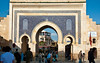Entry gate to the souks in Fez