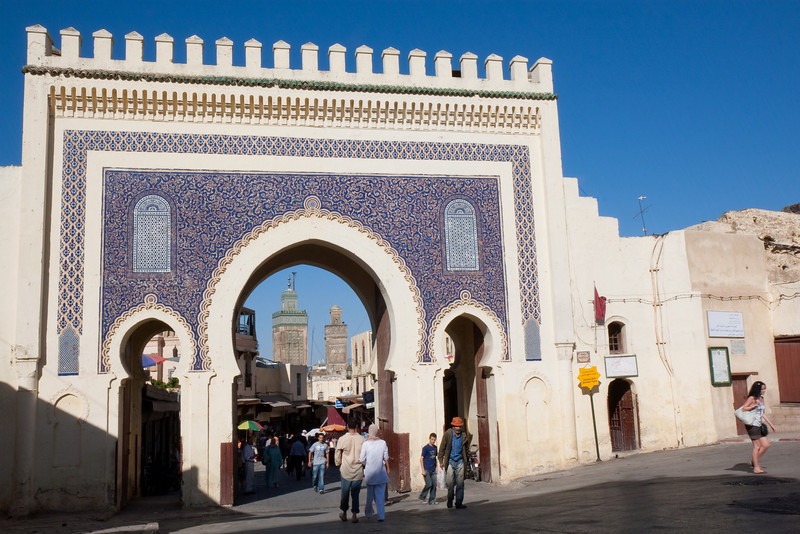 Bab Boujloud gate, Fes