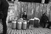 The milk seller, Fes, Morocco