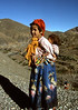 Two young girls in the High Atlas Mountains.