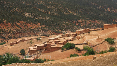 Berber Village in the Atlas Mountains III, Morocco