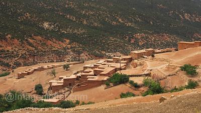 Berber Village in the Atlas Mountains III, Morocco