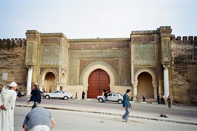 Bab El Mansour Gate