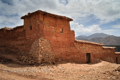 Old Farm House, Atlas Mountains, Morocco