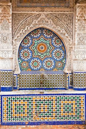 Public water fountain in Fez