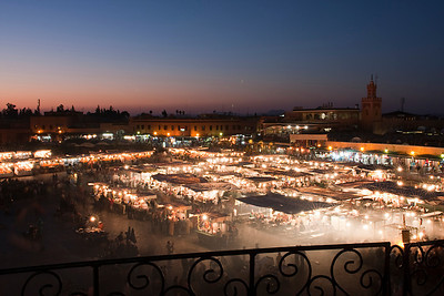 Jamma El Fna Food Market, Marrakech