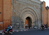 Bab Agnaou gate, Marrakech, Mon 28 April 2014.  Built in the 12th century, this was the royal entrance to the palace of the Almohad dynasty.