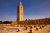 Koutoubia Mosque and Minaret