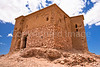 Fortress above  Ait ben Haddou