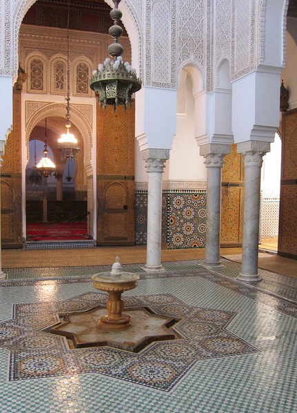 Inside a Mosque nr Bab Boujloud - Fes, Morocco