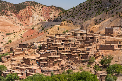 Berber Village in the High Atlas Mountains II, Morocco
