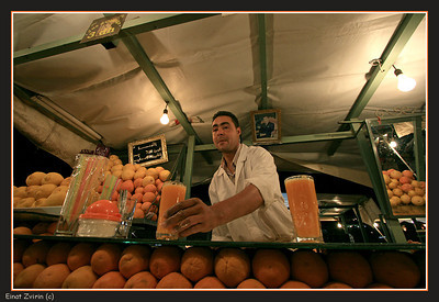 The best orange juice in the world Jamma El Fna Food Market Marrakech